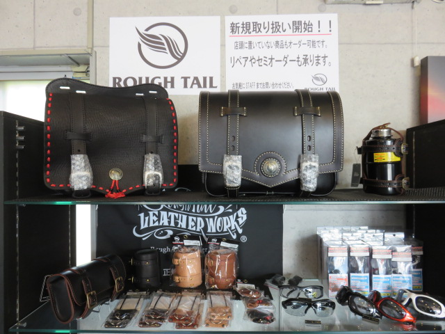 ROUGH TAIL LEATHER アイテムが入荷しました!!